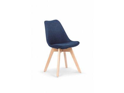 K303 židle tmavě modrá / buk