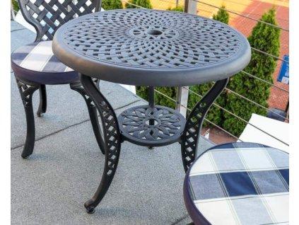 Kovový stolek balkonový Manhattan