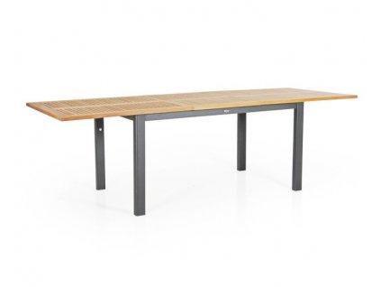 Stůl roztahovací 194-252 DURTAL: antracitový teak