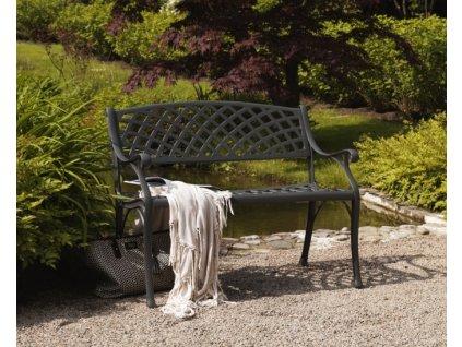 Grafitová lavice zahradní Vichy