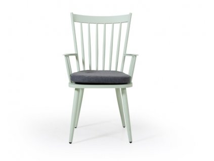 Hliníková židle DIE: zelená