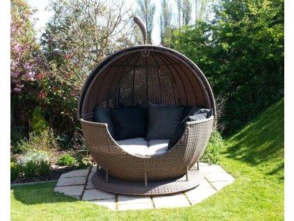 Zahradní postel Technoratan Quebec