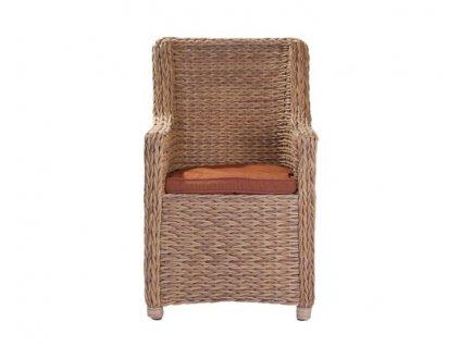 Židle technoratan WINNIPEG: béžové polštáře