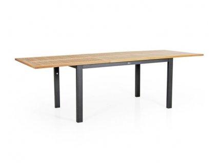 Stůl roztahovací teak 194-252 DURTAL: černý teak