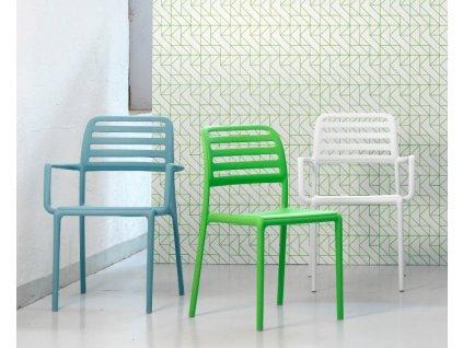 Židle s područkami Costa