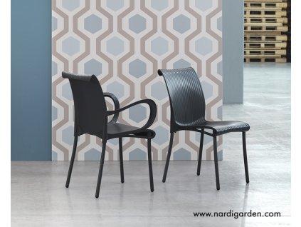 Židle s područkami Dáma