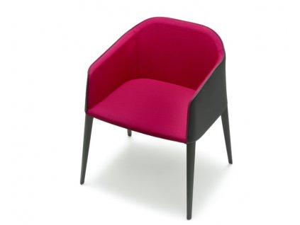 Čalouněná židle Laja 885 v barvě G60