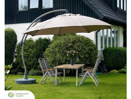 Zahradní deštník Sun Garden Easy Sun 375 cm
