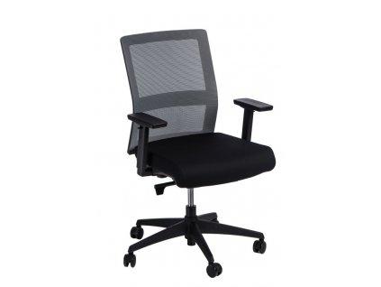Kancelářské křeslo PRESS šedé/černé