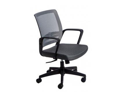 Kancelářské křeslo Seca B šedé/šedé