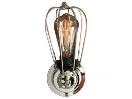 Lampa nástěnná Kopenhagen Loft Chrom