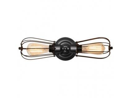 Lampa nástěnná Kopenhagen Loft H šedo-hnědá