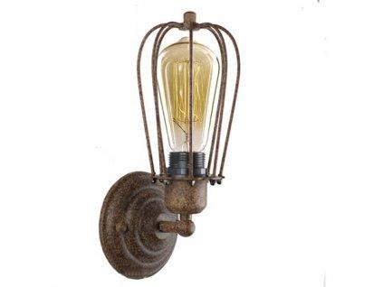 Lampa nástěnná Kopenhagen Loft rustikální