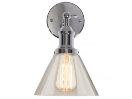 Lampa nástěnná New York Loft 1 Chrom