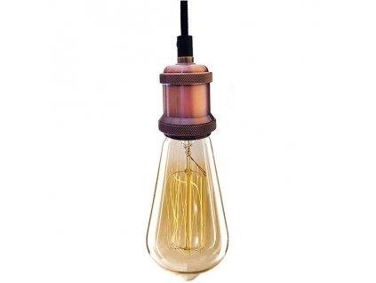 Lampa závěsná INDUSTRIAL CHIC EDISON bf19