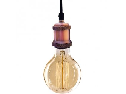 Lampa závěsná INDUSTRIAL CHIC EDISON bf81