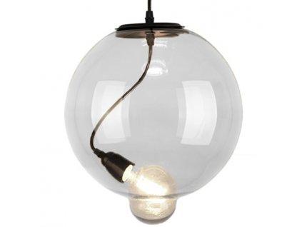 Lampa závěsná Modern Glass Bubble čirá
