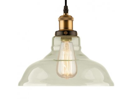 Lampa závěsná NEW YORK LOFT 3 čirá