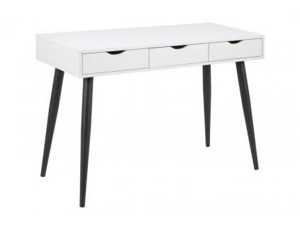 Psací stůl NEPTUN bílý/černý