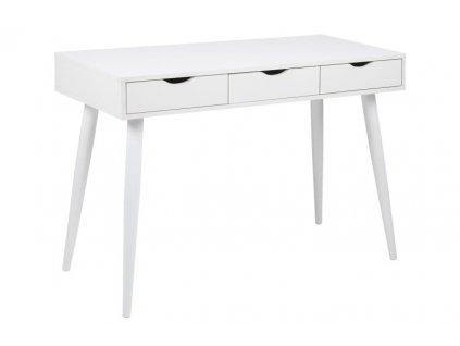 Psací stůl NEPTUN bílý/bílý
