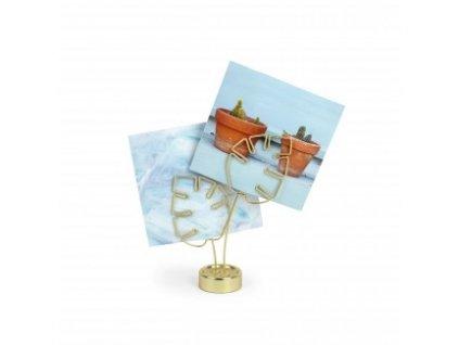 Rámeček na fotografie Leaflet Brass