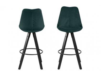 Židle barová Dima VICENTE zelený