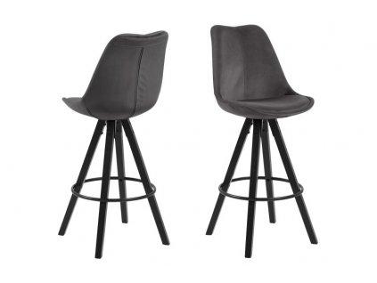 Židle barová Dima VICENTE šedý