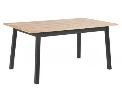 Stůl CHARA L černý základ