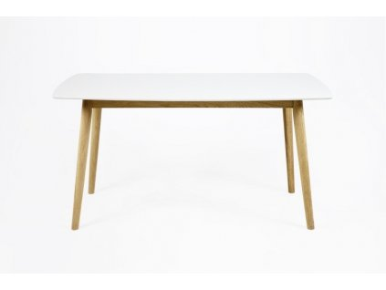 Stůl NAGANO L bílá deska