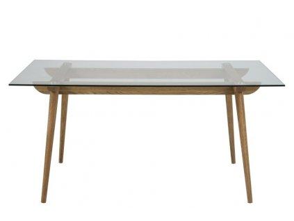 Stůl Taxi M sklo/dřevo