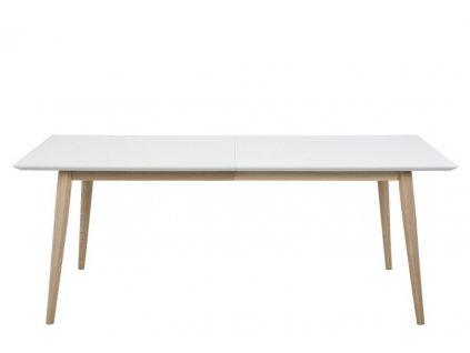 Stůl rozkládací Century bílý/Wood