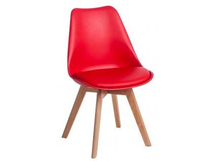 Židle NORDEN CROSS PP červená 1613