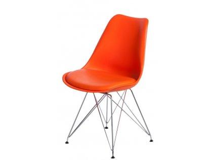 Židle Norden DSR PP oranžová 1614