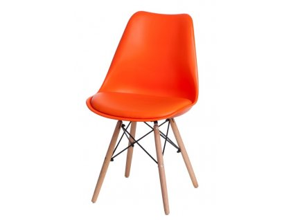 Židle Norden DSW PP oranžová 1614