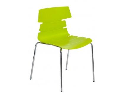 Židle Techno 4 PP zelená