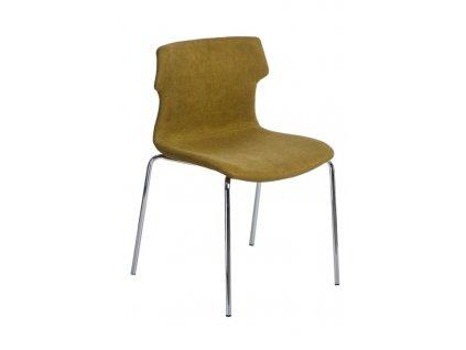 Židle Techno 4 polstrování zelené 1816