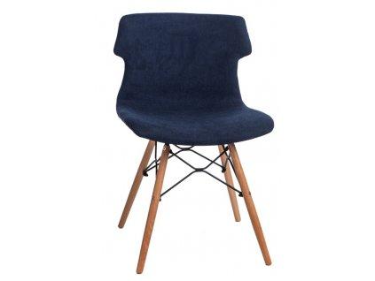 Židle Techno DSW polstrování modré 1817