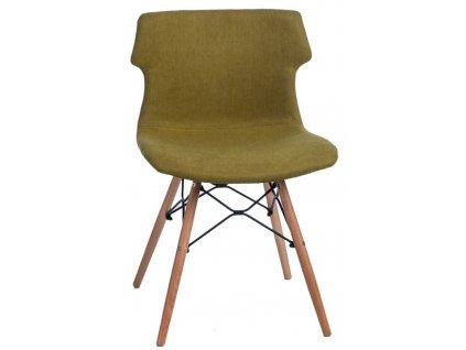 Židle TECHNO DSW polstrování zelené 1816