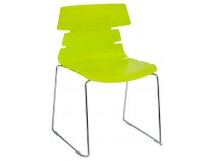 Židle TECHNO SL pp zelená