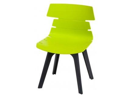 Židle Techno STD PP zelená