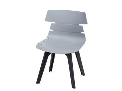 Židle TECHNO STD pp šedá