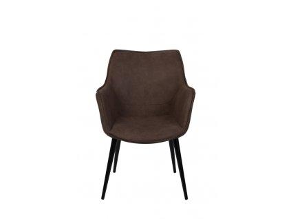 Židle Yule hnědá