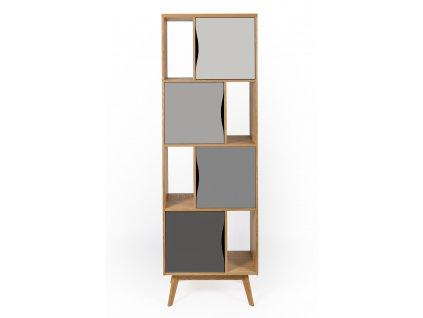 Avon Bookcase Narrow Standard 1