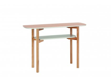 Cee Console Table Oak Putty 02