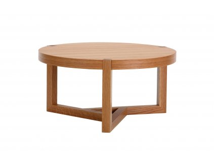 Brentwood Coffee Table Oak 02