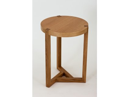 Brentwood Side Table Oak 01