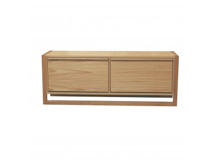 NewEstShoeBench1 2DoorOak JLPDirect