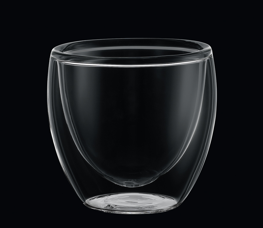 SET 2 skleněných šálků na espresso 0,80 ml