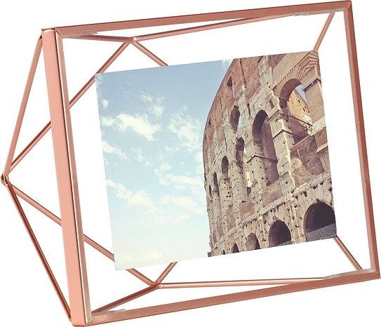 UMBRA rámeček na fotografie PRISMA 10x15 cm - měděný