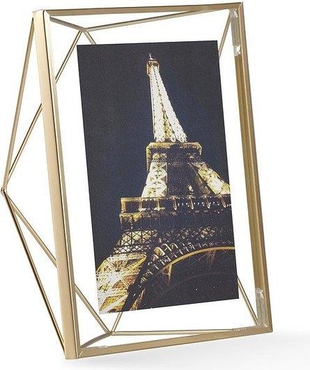 UMBRA rámeček na fotografie PRISMA 13x18 cm - zlatý
